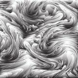 Gris et blanc mélangés Photographie stock libre de droits