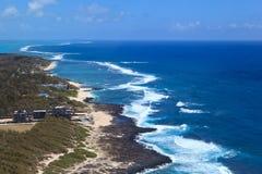 Gris Gris海角在毛里求斯 免版税库存图片