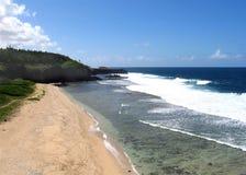 Gris Gris strand Arkivbilder