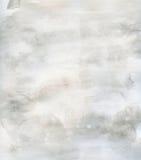 Gris sutil del fondo de la acuarela de la textura del grunge Imagen de archivo