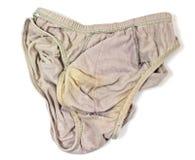 Gris utilisé de sous-vêtements Photographie stock libre de droits