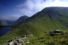 Grisedale and Fairfield Royalty Free Stock Image