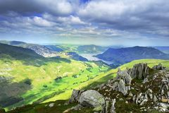Grisedale Valley Stock Photos