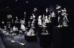 Grisha Bruskin. H-HOUR Rzeźby projekt. Fotografia Stock