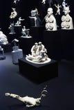 Grisha Bruskin. H-HOUR Rzeźby projekt. Zdjęcie Royalty Free