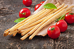 Grissini bread sticks Royalty Free Stock Photography