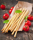 Grissini bread sticks Royalty Free Stock Photo