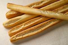Grissini - Breadsticks Royalty Free Stock Images