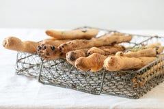 Grissini breadsticks Stock Photography