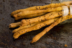 Grissini with cumin Royalty Free Stock Image