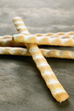 Grissini, italian bread sticks, selective focus Stock Photo
