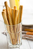 Grissini sticks Stock Image