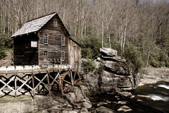 Grist glade creek mill Stock Photos