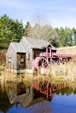 Grist mill. Near Guilhall, Vermont, USA stock image