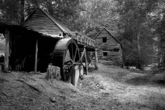 Grist Mill. Old Grist Mill, very rustic setting Royalty Free Stock Photo