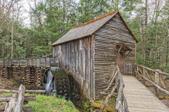 Grist Mill In Cades Cove Stock Photo