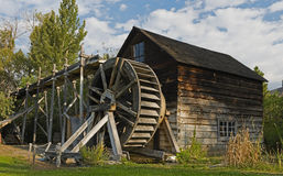 The Grist Mill at Keremeos Royalty Free Stock Photo