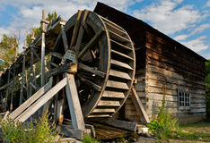 The Grist Mill at Keremeos Royalty Free Stock Photography