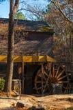 Grist Mill in Stone Mountain Park, USA. Grist Mill in the Stone Mountain Park in sunny autumn day, Georgia, USA Stock Photos