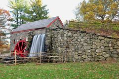 Grist mill view Royalty Free Stock Photos