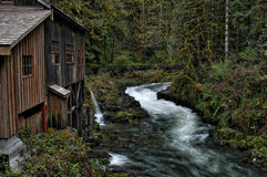 Grist Mill Washington royalty free stock images