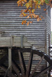 Grist mill with water wheel Royalty Free Stock Photos