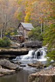Gristmill in Autumn Stock Image