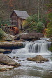 Gristmill in Late Autumn Royalty Free Stock Photo