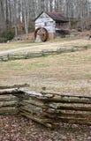 Gristmill restaurado velho Foto de Stock