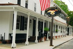 Griswold Inn, Essex, CT. The Griswold Inn in Essex Connecticut is considered the oldest tavern in the United States Royalty Free Stock Photo