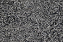 Grit. Grey sand grit on ground Stock Photography