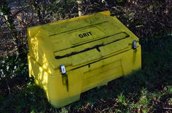 Grit container Royalty Free Stock Photography