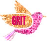 Grit Word Cloud vector illustration