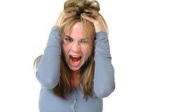 Gritar Imagem de Stock