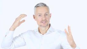 Gritar do homem, irritado Imagens de Stock Royalty Free