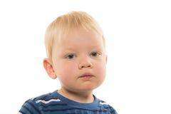 Griterío de 2 años del muchacho Foto de archivo libre de regalías