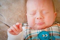 Griterío del bebé Fotografía de archivo