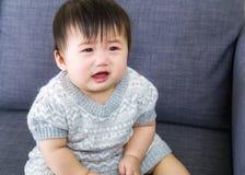 Griterío del bebé Fotografía de archivo libre de regalías