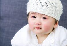 Griterío del bebé Fotos de archivo libres de regalías