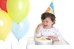 Griterío del bebé Imagen de archivo