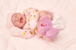Grito cor-de-rosa Imagens de Stock Royalty Free