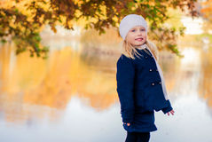 Grito da menina Foto de Stock