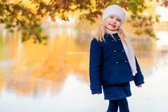 Grito da menina Fotos de Stock Royalty Free
