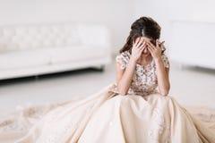 Grito da noiva Foto de Stock Royalty Free