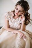 Grito da noiva Fotos de Stock Royalty Free