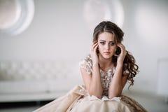 Grito da noiva Fotografia de Stock Royalty Free