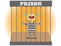 Grito da prisão ilustração do vetor