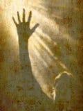 Grito de la ayuda Imagen de archivo libre de regalías