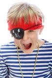Grito del pirata Imagen de archivo libre de regalías
