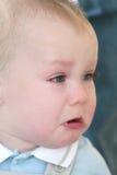 Grito do bebé Foto de Stock Royalty Free
